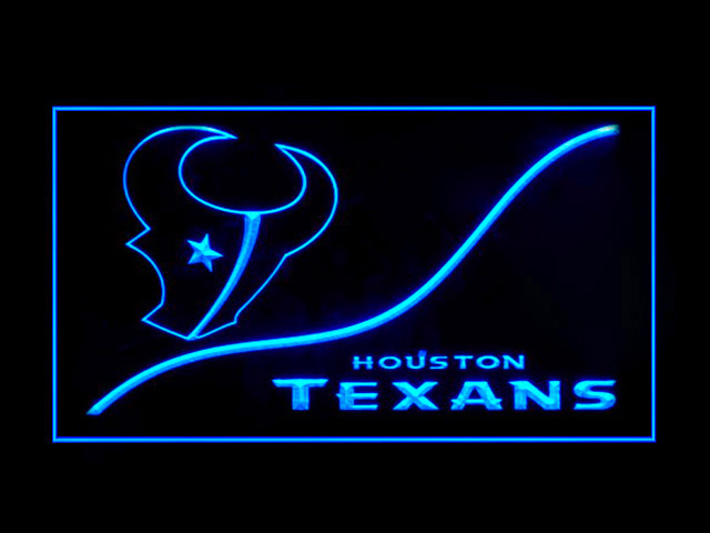 Houston Texans Cool Display Shop Neon Light Sign