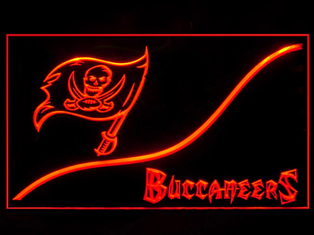 Tampa Bay Buccaneers Cool Shop Neon Light Sign