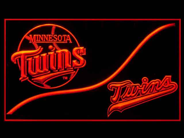 Minnesota Twins Cool Display Shop Neon Light Sign