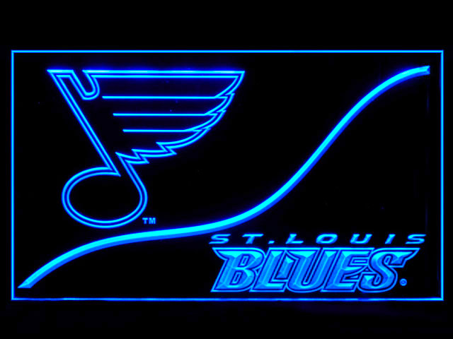St. Louis Blues Cool Display Shop Neon Light Sign