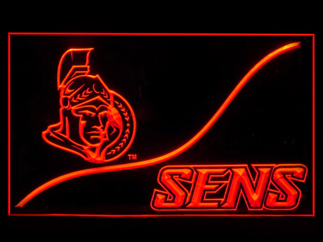 Ottawa Senators Cool Display Shop Neon Light Sign