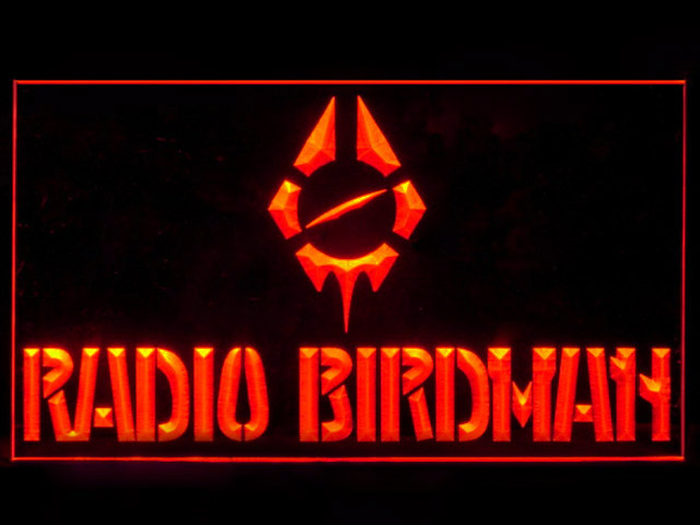 Radio Birdman Display Led Light Sign