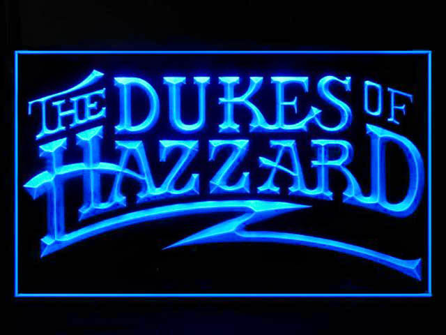 The Dukes Of Hazzard Neon Light Sign