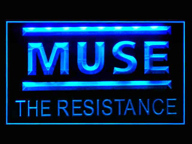 Muse The Resistance Display Led Light Sign