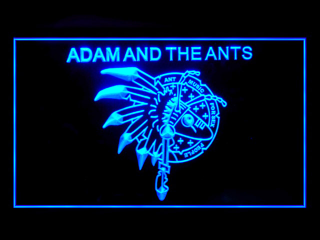 Adam And The Ants Display Led Light Sign