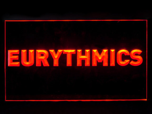Eurythmics Lennox Stewart Display Led Light Sign