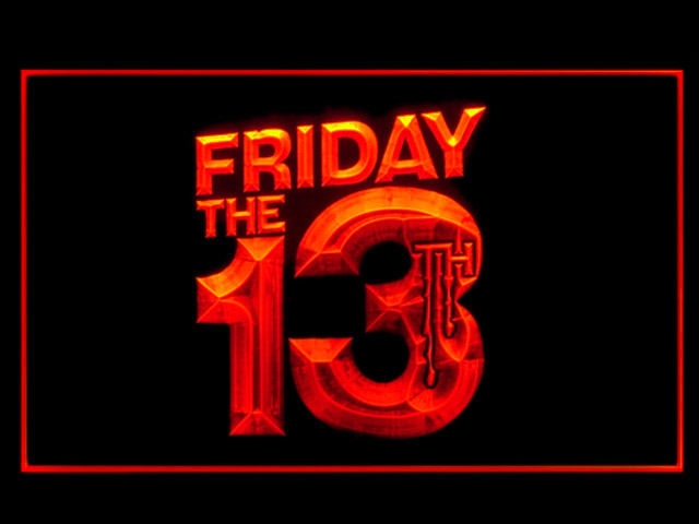 Friday The 13th Neon Light Sign