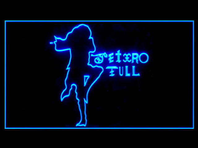 Jethro Tull Display Led Light Sign