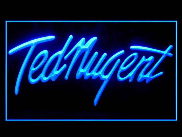 Ted Nugent Display Led Light Sign