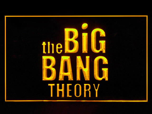 The Big Bang Theory Comedy Neon Light Sign