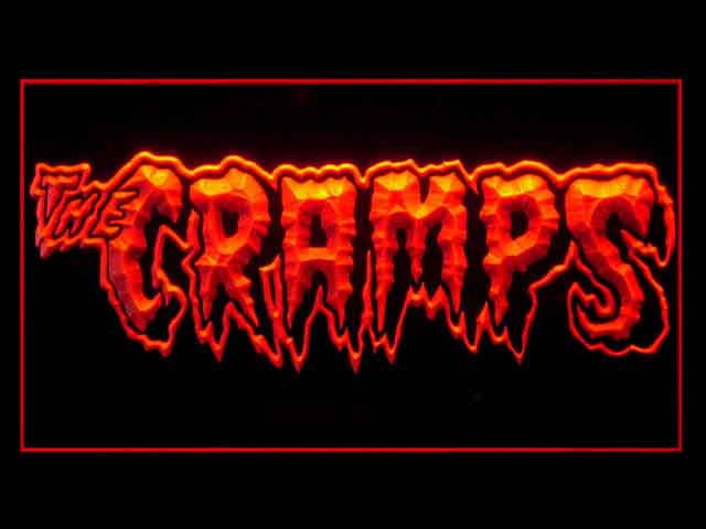 The Cramps Display Led Light Sign