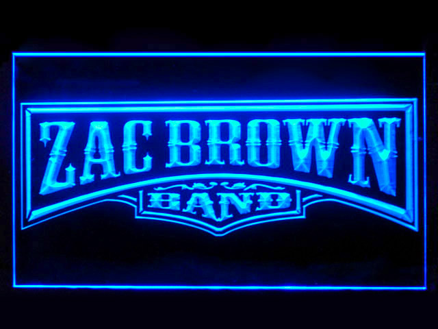 Zac Brown Display Led Light Sign