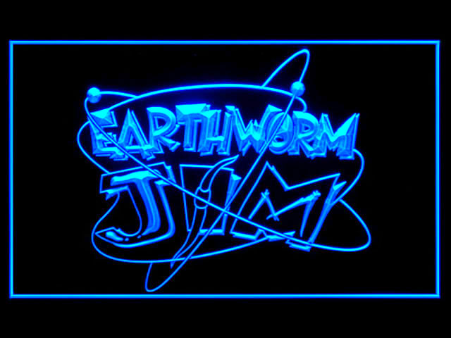 Earthworm Jim Neon Light Sign