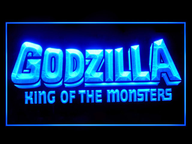 Godzilla King of the Monsters Neon Light Sign