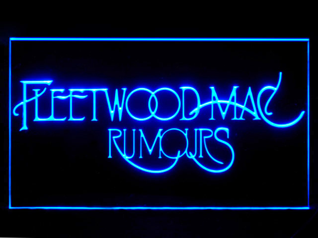 Fleetwood Mac Rumors Led Light Sign