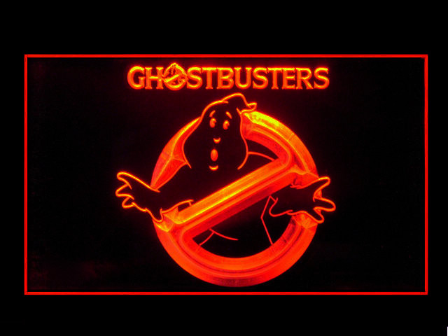 Ghostbusters Neon Light Sign