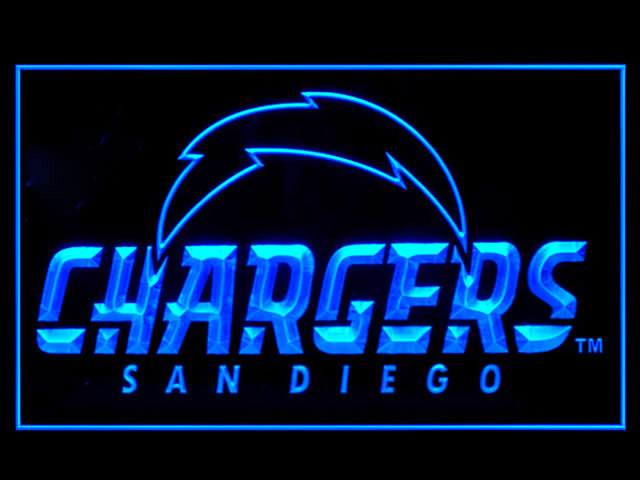 San Diego Chargers Alternate Display Shop Neon Light Sign