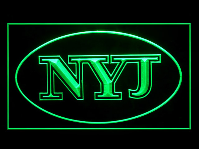 New York Jets NYJ Display Shop Neon Light Sign
