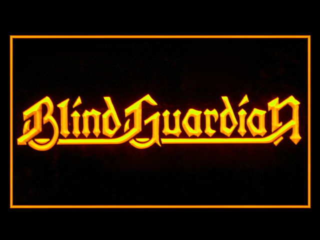 Blind Guardian Display Led Light Sign