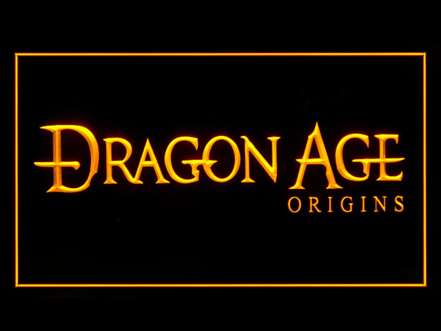 Dragon Age Origins Neon Light Sign