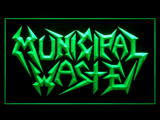 Municipal Waste Display Led Light Sign