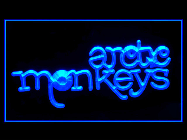 Arctic Monkeys Display Led Light Sign