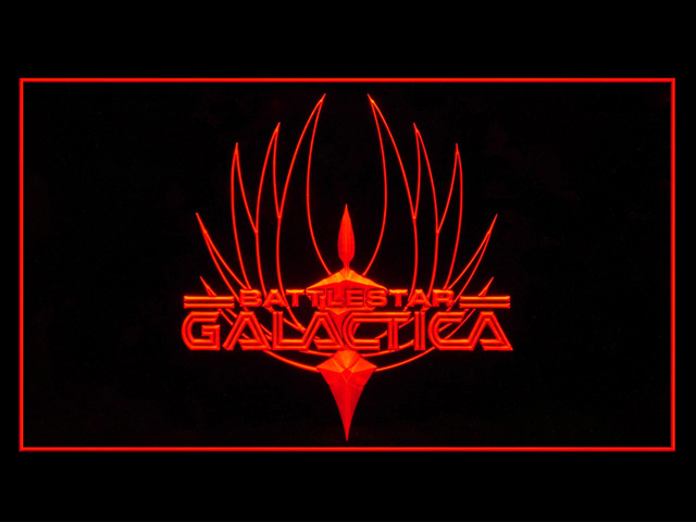 Battlestar Galactica Display Neon Light Sign