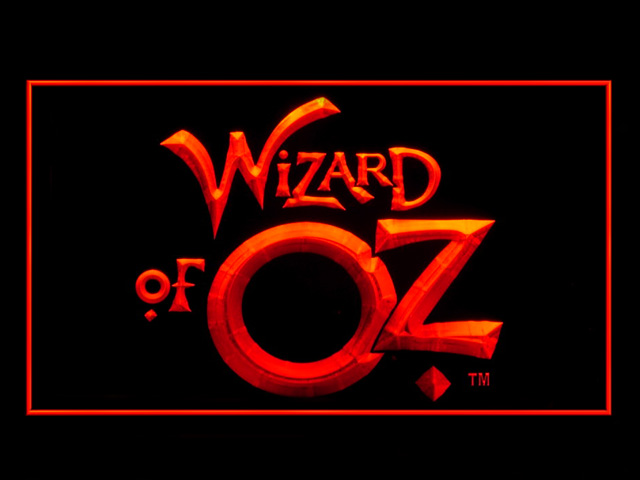 Wizard of OZ Neon Light Sign