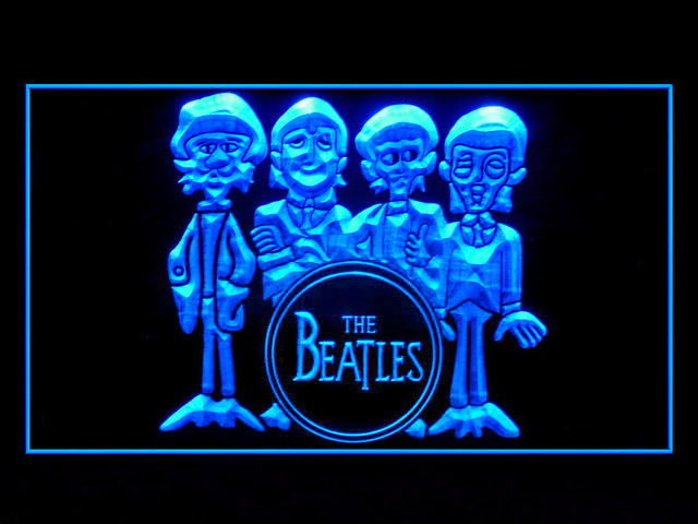 The Beatles Drum Display Led Light Sign
