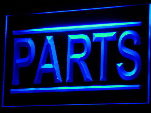PARTS Auto LED Light Sign