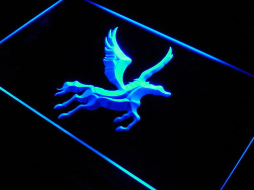 PEGASUS Horse Display Home Decor Neon Light Sign