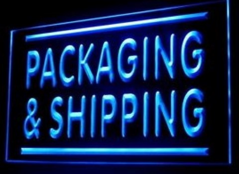 Packaging Shipping Professional Express LED Neon Sign