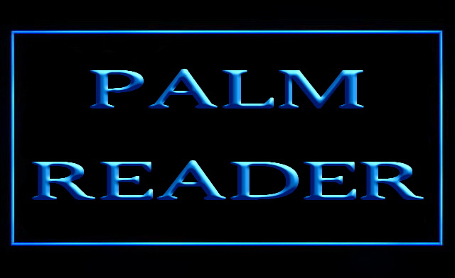 Palm Reader LED Neon Sign