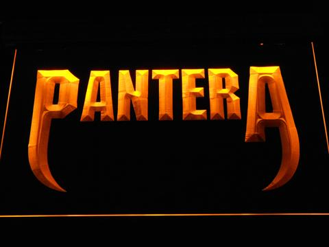 Pantera Fangs LED Neon Sign