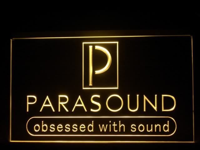 Parasound LED Light Sign