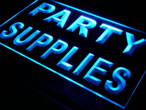 Party Supplies Shop Display Bar Neon Light Sign