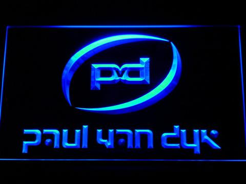 Paul Van Dyk LED Neon Sign