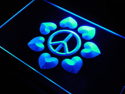 Peace & Love Display Home Decor