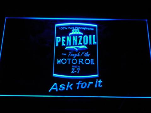 Pennzoil Ask For It LED Neon Sign