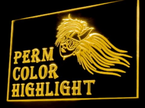 Perm Color Highlight LED Neon Sign