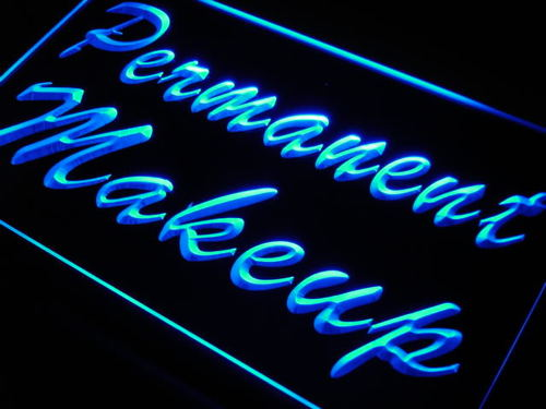 Permanent Make Up Neon Light Sign