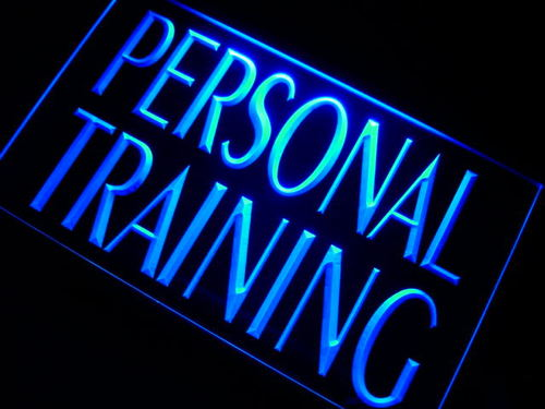 Personal Training Logo LED Sign