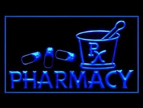 Pharmacy Pills Pharmacist LED Neon Sign