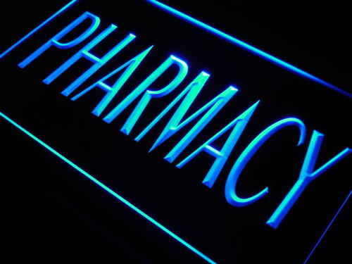 Pharmacy Shop Neon Light Sign