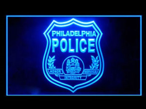 Philadelphia police For Display Light Sign LED Neon Sign