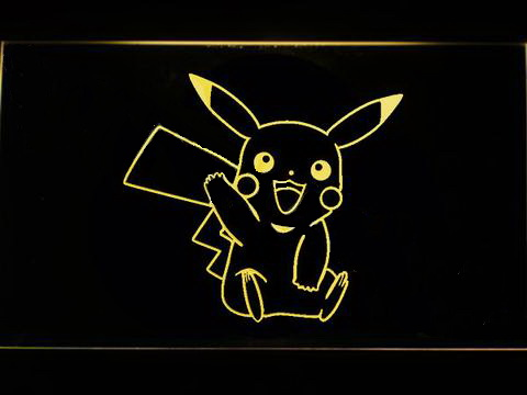 Pikachu LED Neon Sign
