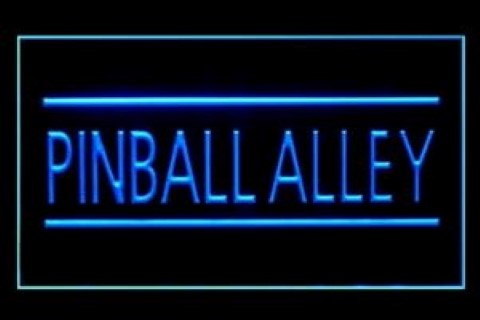 Pinball Alley Amusement LED Neon Sign