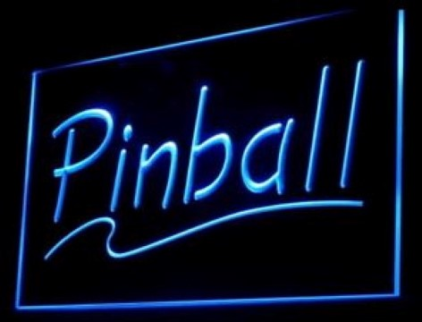 Pinball LED Neon Sign