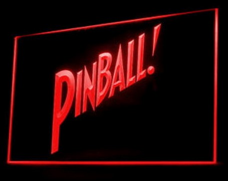 Pinball Play Now LED Neon Sign
