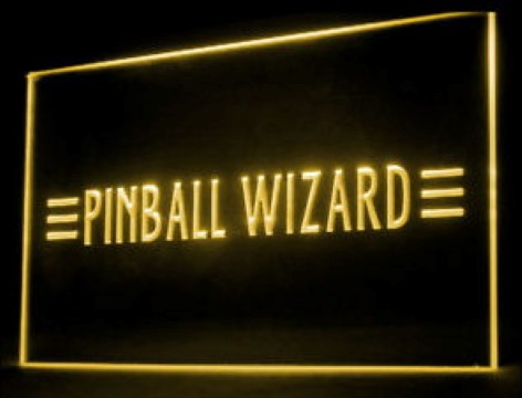 Pinball Wizard Professional LED Neon Sign